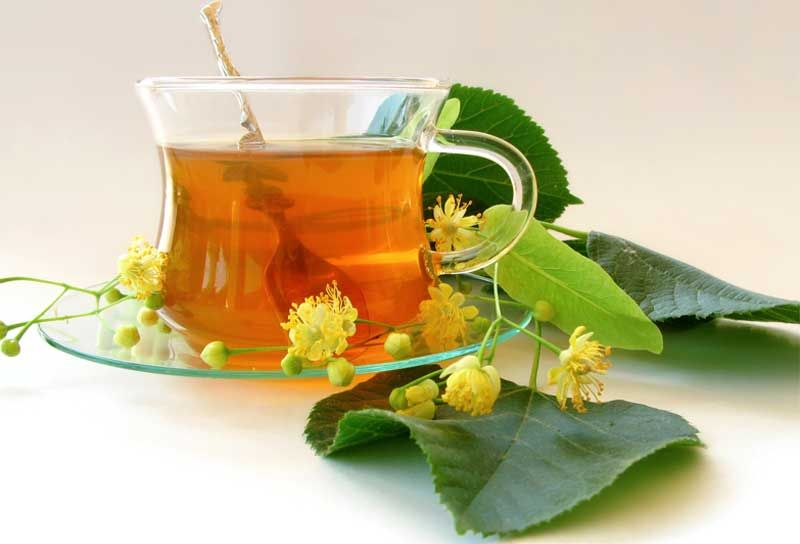 чашка чая с травкой