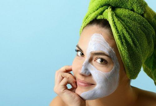 маска для лица в бане