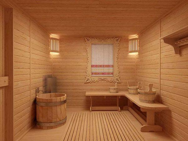 предбанник в бане